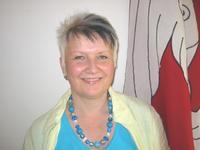 Reinigungsteam-Mitarbeiterin Doris Rickenbacher Porträtfoto